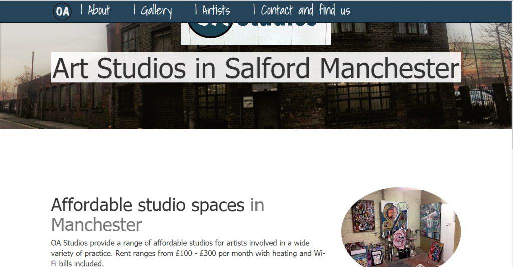 OA Studios website [In Progess]