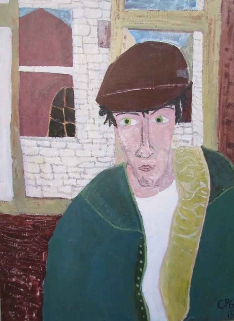 Portrait of the Artist Matt Nin