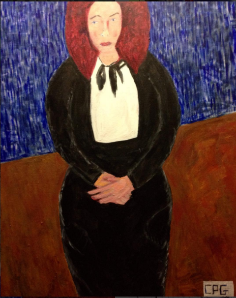 Portrait of the Artist Becca Smith